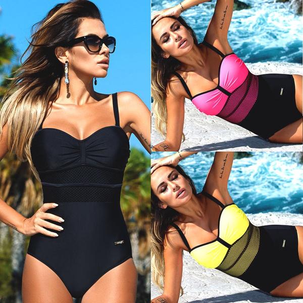 women swimwear push up, Womens swimwear, Women's Bikini Swimwear, Women's Fashion