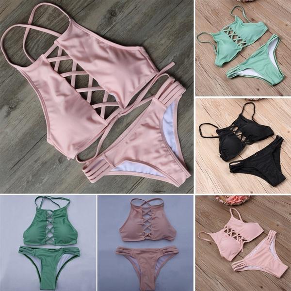bathing suit, Fashion, women beachwear, bikini set