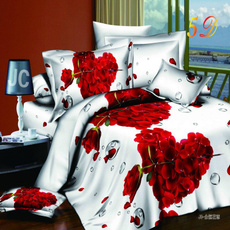 Clothes, Heart, Polyester, Flowers
