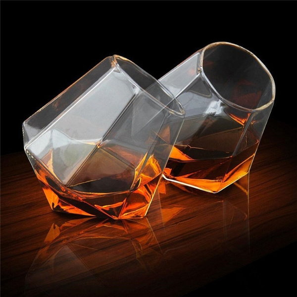 cutediamondcup, gift for him, whiskeybeercup, Creative