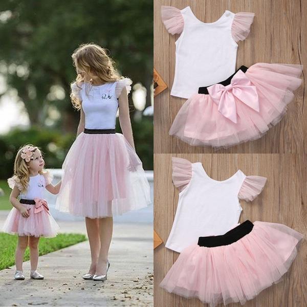 Summer, Skirts, Dress, motherdaughterdresse