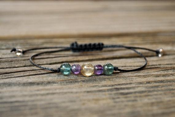 Yoga, Jewelry, Crystal, yogabracelet