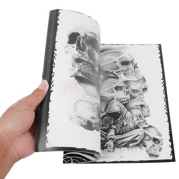 Art Supplies, tattoobook, Book, art