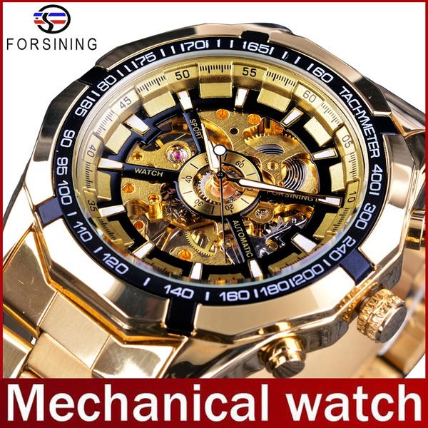 automaticmechanicalwatch, business watch, watchformen, Gold Watch