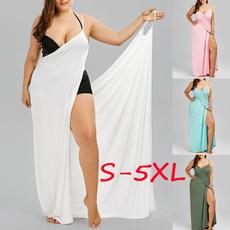 flowydresse, Plus Size, Beach, Dress