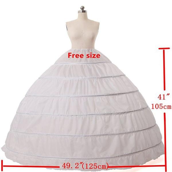 6hooppetticoat, Underwear, weddingpetticoat, gowns