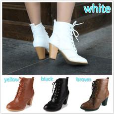 high, Woman, Boots, Autumn