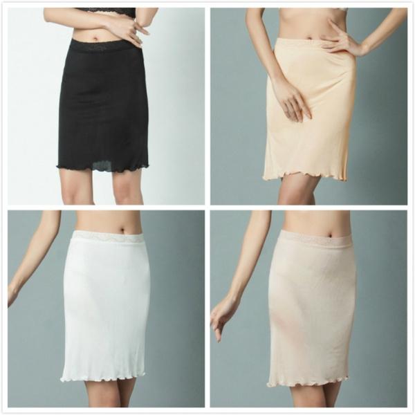 underdre, halfslip, silk dress, Dress