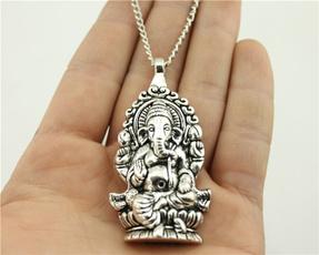 Antique, bigelephantnecklace, Fashion, Jewelry