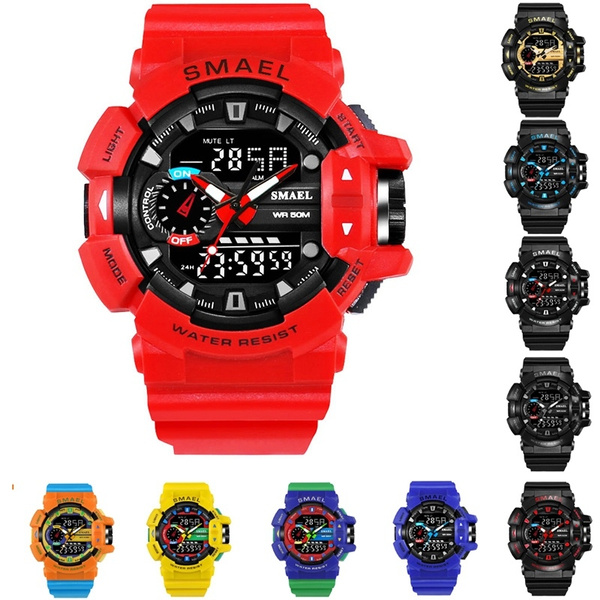 LED Watch, multifunctionalwatch, Waterproof Watch, Waterproof