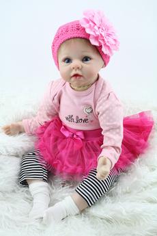 cute, reborndoll, doll, Silicone