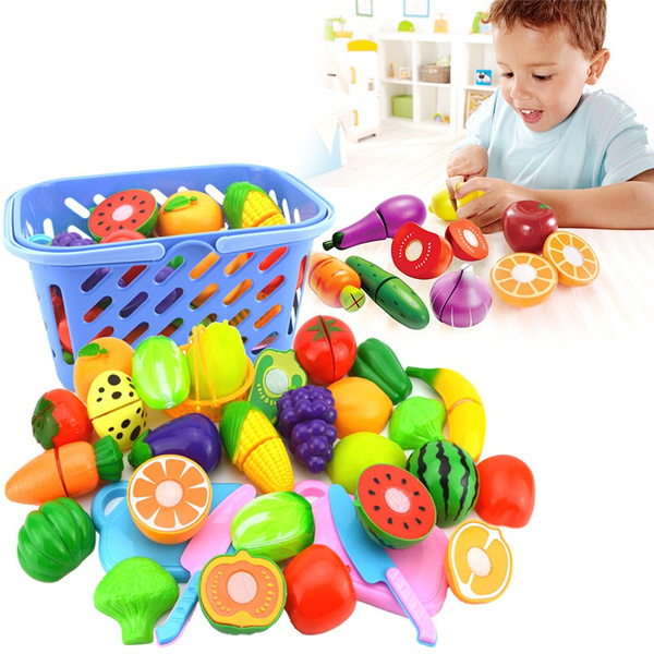 preschooltoy, Kitchen & Dining, Toy, fruitcuttingtool