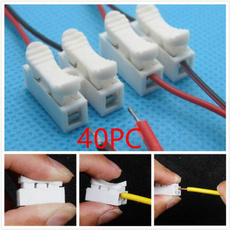 quickconnector, Cables & Connectors, springclamp, Home & Living