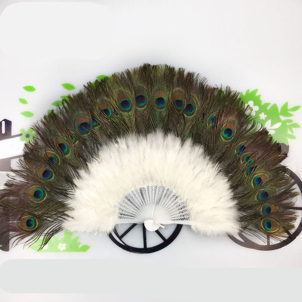 foldingfan, peacock, Fashion, Dance