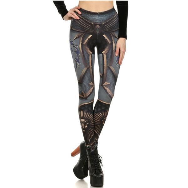 Leggings, Fashion, digitalprinting, pants