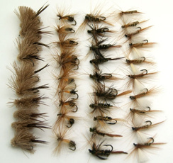 dry, fly, Lures, fish
