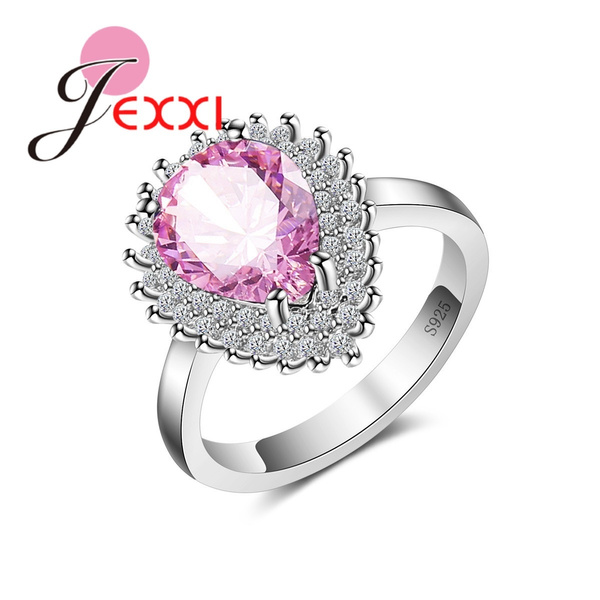 pink, water, czring, Jewelry