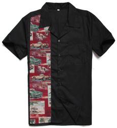Vintage, Shirt, hawaiianstyleshirt, Casual