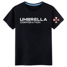 Fashion, Umbrella, residentevil, cottoncutewomenstshirt