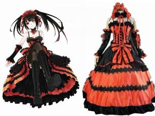 tokisaki, Cosplay, Dress, M