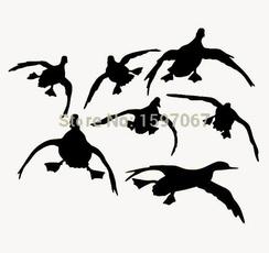 Funny, flyingduck, Hunting, Wall