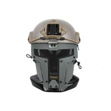 Helmet, netmask, fullfacemask, airsoft'