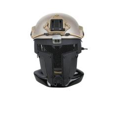 Helmet, netmask, black, fullfacemask
