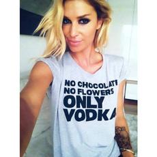 Funny, vodka, Fashion, Shirt