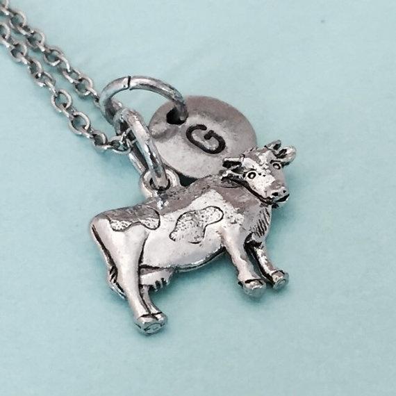 monogram, Farm, Jewelry, cow