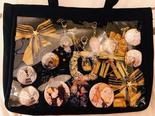 Shoulder Bags, cute, Food, transparentbag