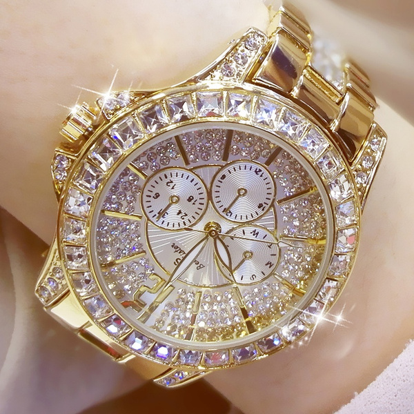 silver and gold watch womens