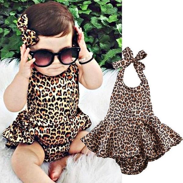 Baby, onesie, kidsoutfit, Leopard