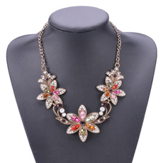 goldplated, Flowers, Cosplay, Jewelry