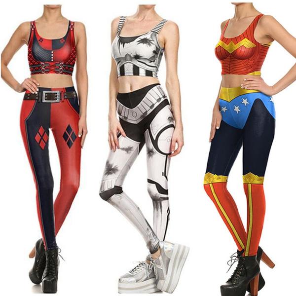 digitalprint, Workout & Yoga, Fashion, Superhero