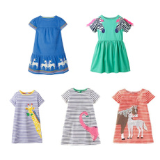 Summer, Shorts, girlsshortdresse, animal print