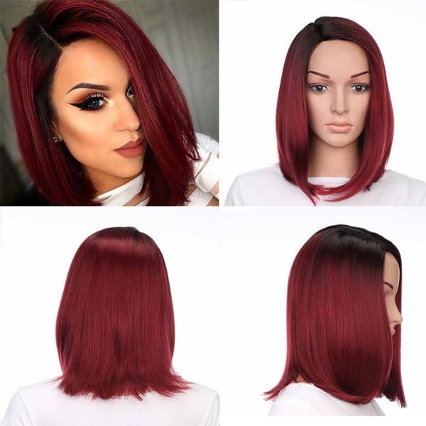 wig, shorthairwig, Fashion, Cosplay