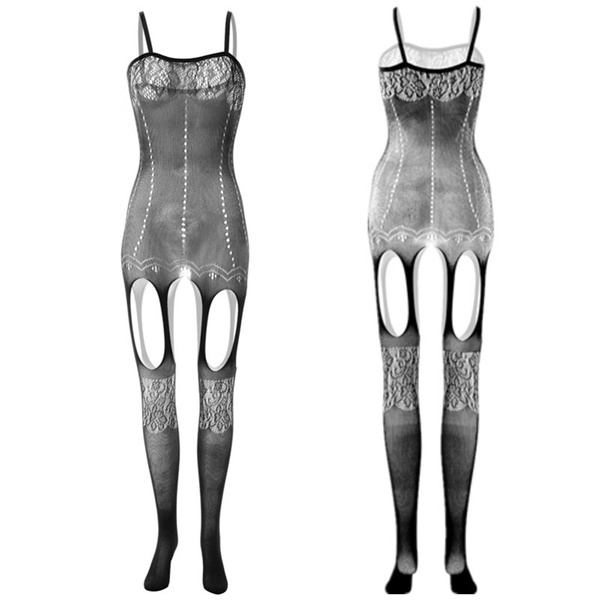 Underwear, lingeriebodysuit, bodystocking, Fish Net