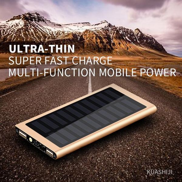 solar charger, External Battery, mobilecharger, Powerbank
