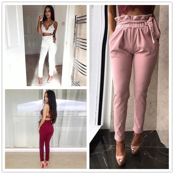 Summer, Leggings, Fashion, high waist