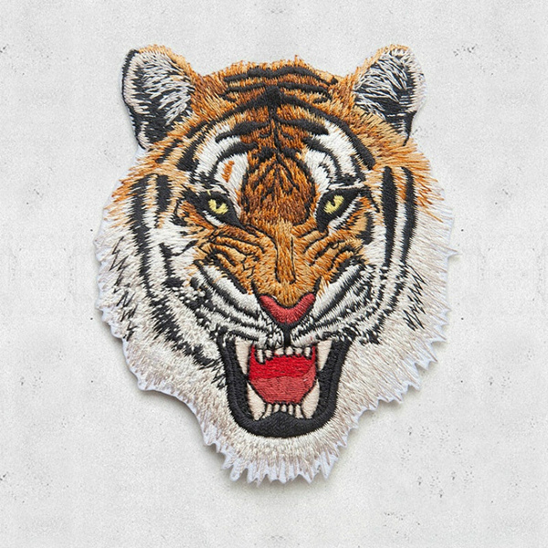Tiger, Fashion, clothattached, thebadge