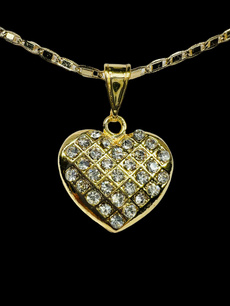 Heart, 14knecklace, gold, goldheartnecklace