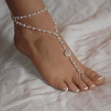 Fashion, Anklets, Chain, foot
