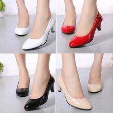 weddingheel, highheelssliponshoe, casual leather shoes, Womens Shoes
