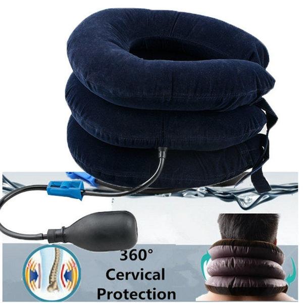 Collar, necktractiondevice, inflatableneckbrace, tensionbacktractionstretcher