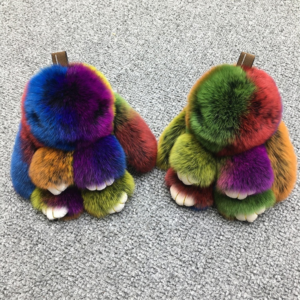 Key Chain, Jewelry, Colorful, fur