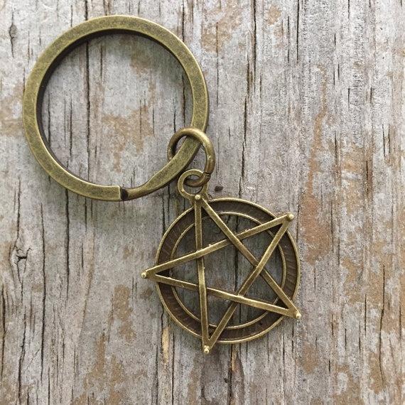 bohemianjewelry, wiccan, Key Chain, Jewelry