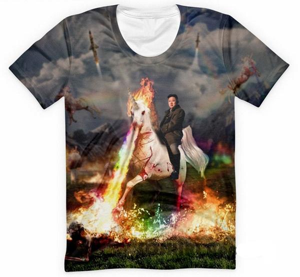 horse, Fashion, 3dprinttee, Cool T-Shirts
