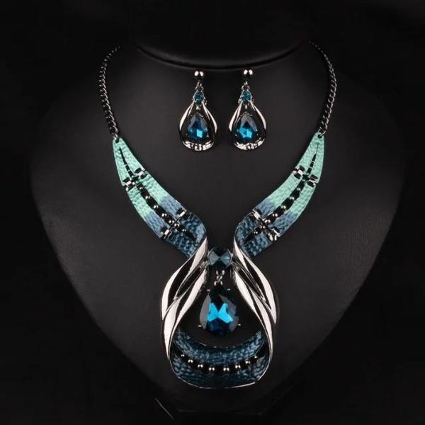 Jewelry, Crystal Jewelry, Crystal, purple