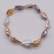 Beaded Bracelets, Womens jewellery, baroquebracelet, Elastic