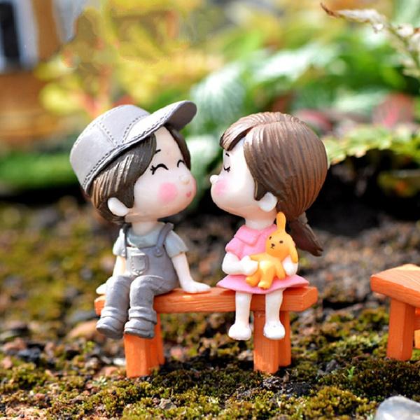 Bonsai, cute, Home Decor, doll